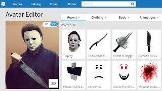 Making Michael Myers A Roblox Account!