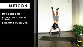 Mottain HOME WORKOUT (Week 1, Day 2)