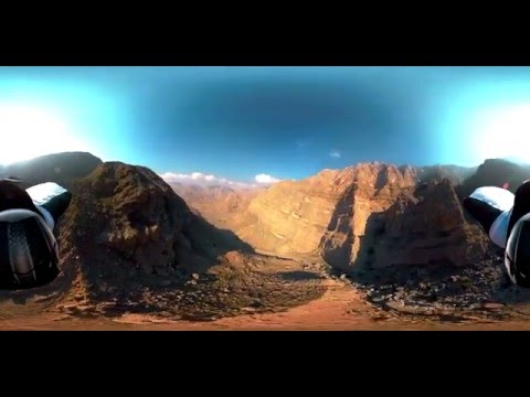 Extreme Wingsuit 360° | Graham Dickinson | Dubai