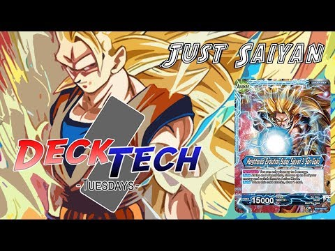 Dragon Ball Super TCG Green/Blue SS3 Goku | Deck Tech Tuesday | PokeRussPlays
