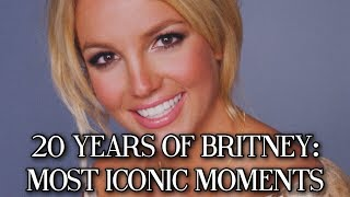 20 YEARS OF BRITNEY SPEARS: MOST ICONIC MOMENTS