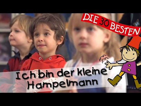Ich bin der kleine Hampelmann - Singen, Tanzen und Bewegen || Kinderlieder