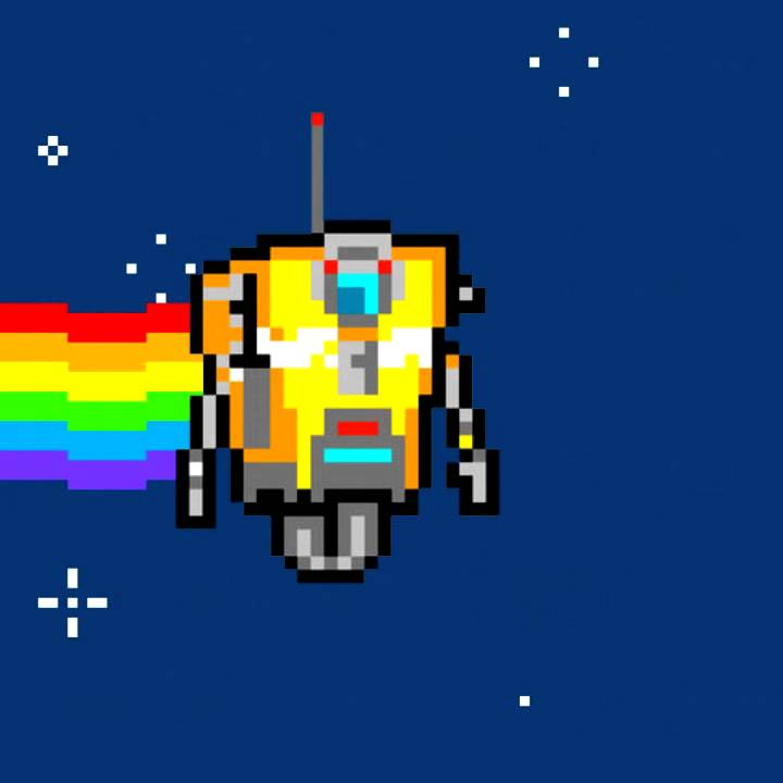 Nyan Cat Claptrap