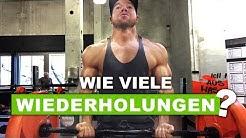 Wie viele Wiederholungen für maximalen Muskelaufbau?