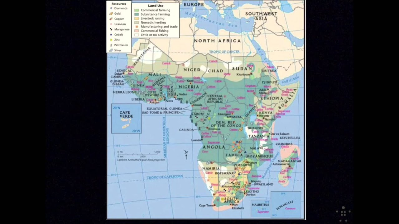 Africa South of the Sahara: Physical Geography, Climate and ...