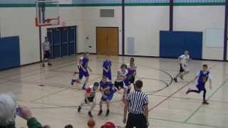 WBC 7th Gr White vs West Regents 1 18 14, 4th Quarter