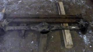 Доделал дисковые тормоза на мост ВАЗ-2106