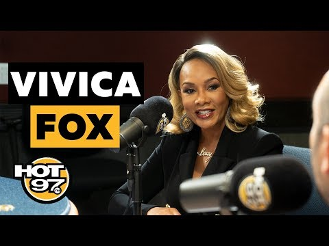 Vivica A. Fox On Relationship w 50 Cent, Serena Williams & Names Her Own Top 5 Movies!