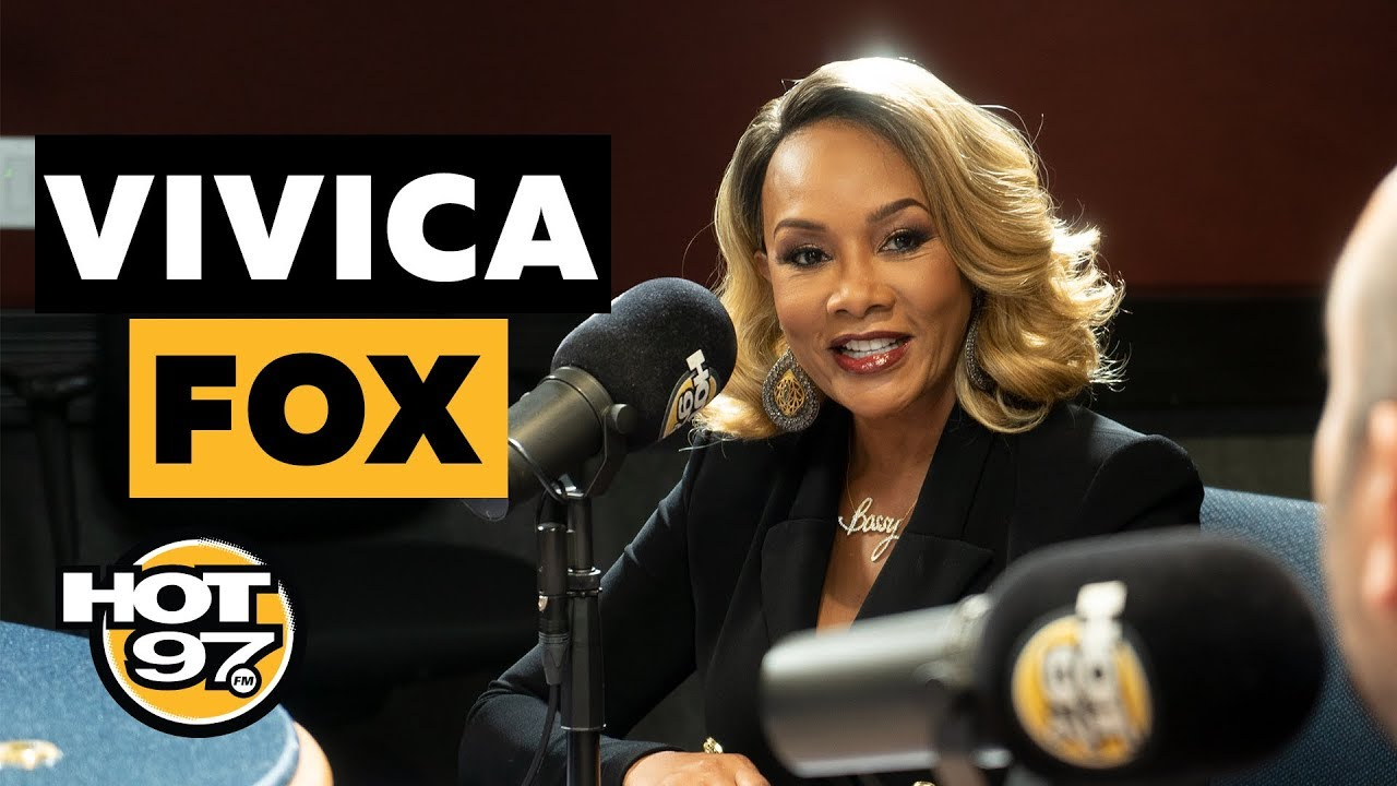 Vivica A. Fox On Relationship w/ 50 Cent, Serena Williams & Names Her Own Top 5 Movies!