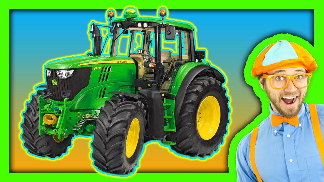 FARM TRACTORS - KIDS SHOW - YouTube