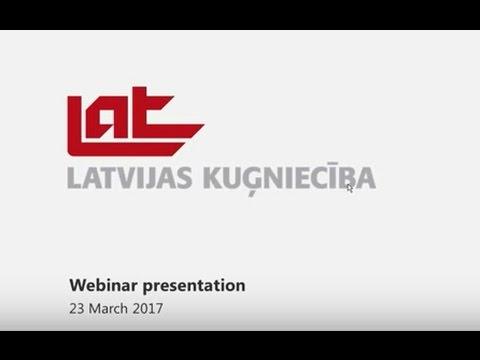 Latvian Shipping Company webinar YE 2016