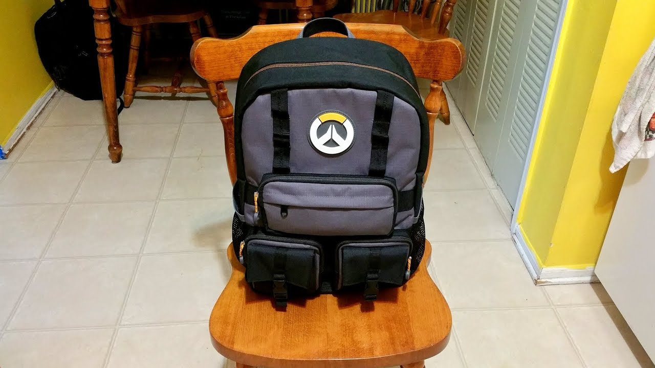 be1865e5d047 Overwatch Tactical Backpack - YouTube