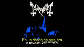 Mayhem - Freezing Moon (subtitulada)