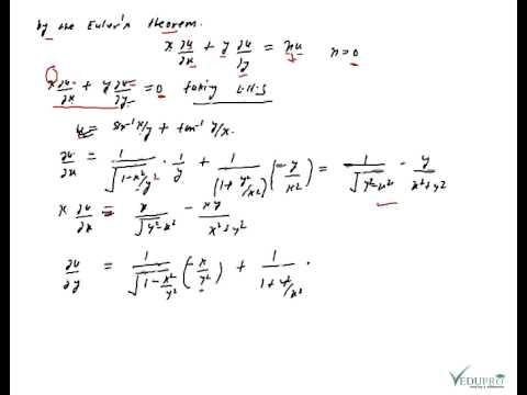 Euler's Theorem for Homogeneous Function, Homogeneous ...