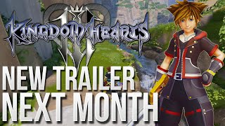 Kingdom Hearts 3 - New Trailer Next Month!? - Confirmed for D23 Anaheim!