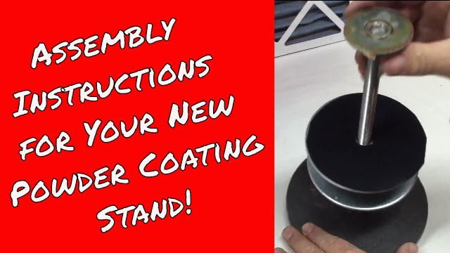 assembly instructions for tumbler powder coating stand youtube