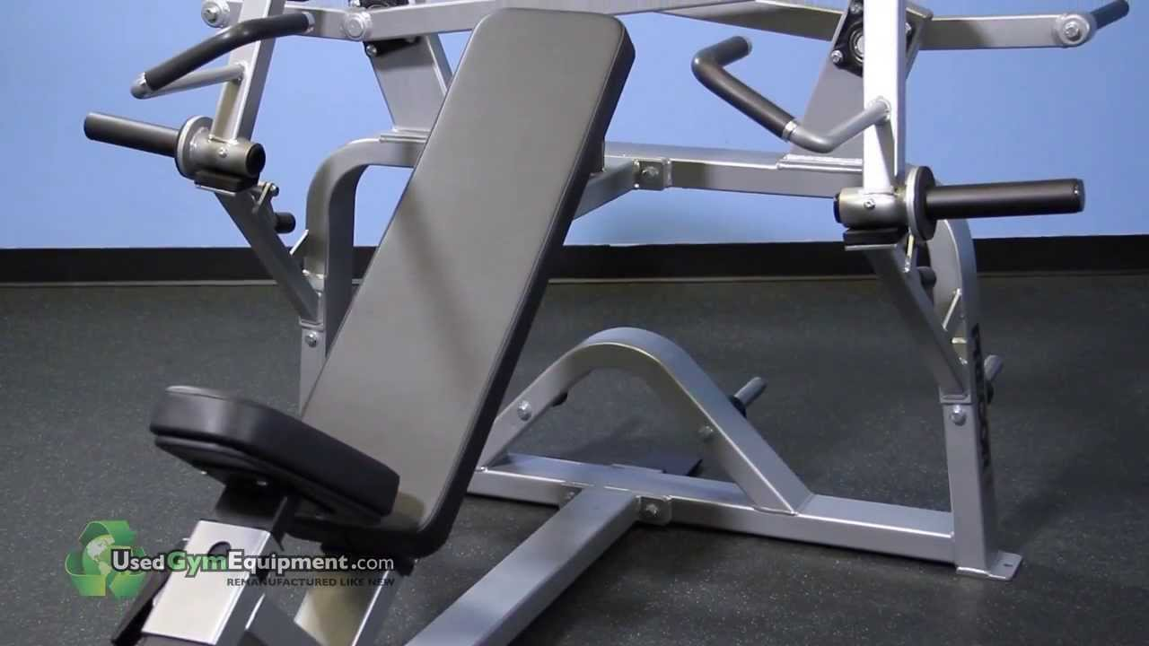 Precor Flite Plate Loaded Used Incline Press Fitness