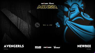 Avengerls vs Newbee Game 2 - SL ImbaTV D2 Minor S3 CN Qualifier: Semifinals