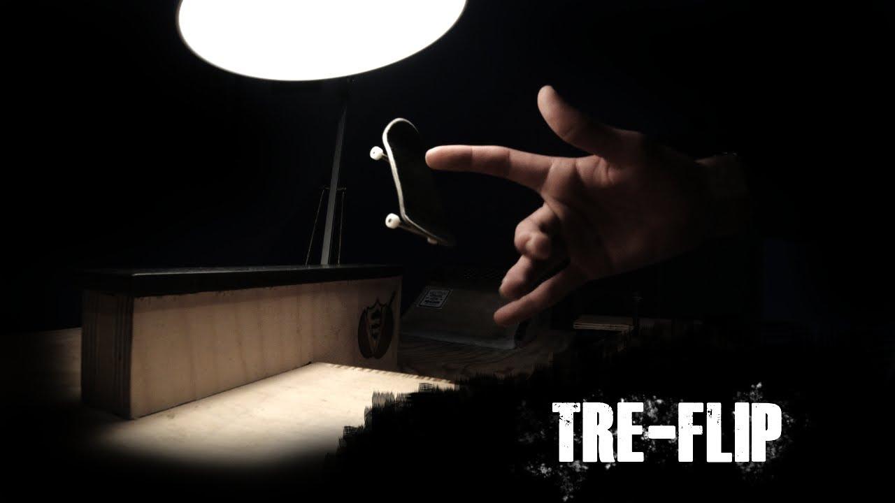 How to TREFLIP on a FINGERBOARD | Detonation Decks