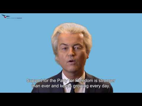 Reaction Geert Wilders to conviction