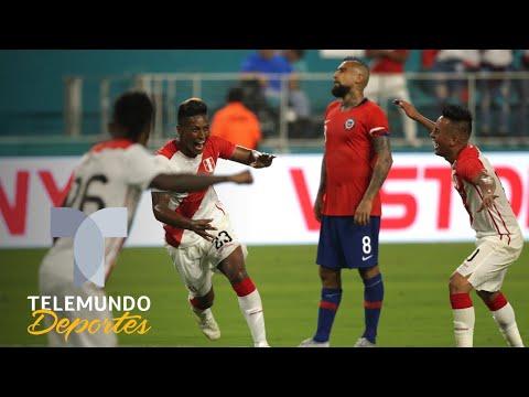 Perú vs. Chile, más que un simple partido   Más Fútbol   Telemundo Deportes