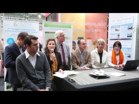 COP 21 - Table ronde «Applications nouvelles de l'énergie solaire»