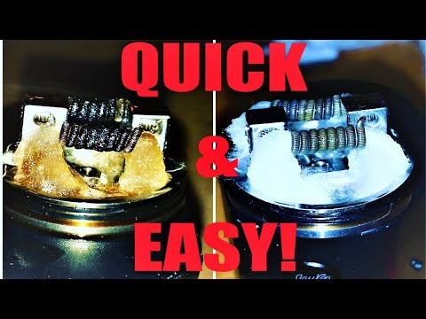 How to clean your dirty RDA coils