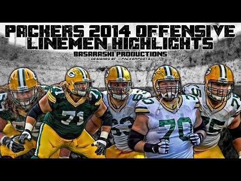 Packers 2014-15 Offensive Lineman Highlights