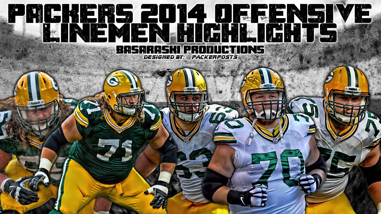 Packers 2014-15 Offensive Lineman Highlights - YouTube