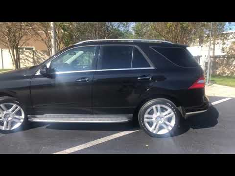 2014 BLACK MERCEDES-BENZ ML350 (4JGDA5JB0EA) with an 3.5L engine, Automatic transmission, located at 6921 40th St N, Pinellas Park, FL, 33781, (727) 366-8136, 27.834944, -82.687653 - Photo #0