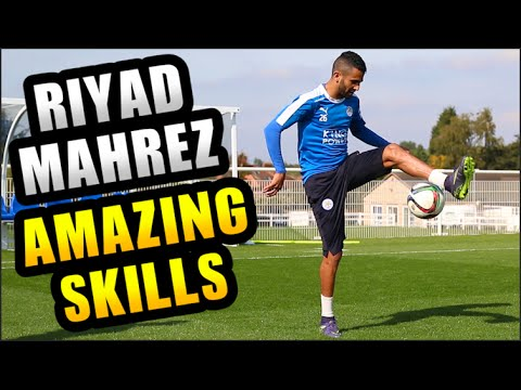 RIYAD MAHREZ Shows Amazing Skills