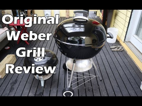 Download Weber Original Kettle 22 inch Charcoal BBQ Grill Review