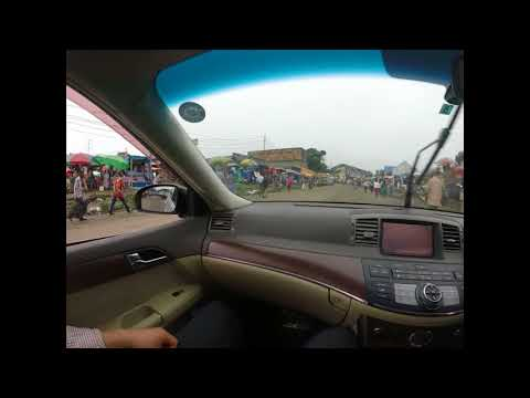 Footage from the streets of Kinshasa