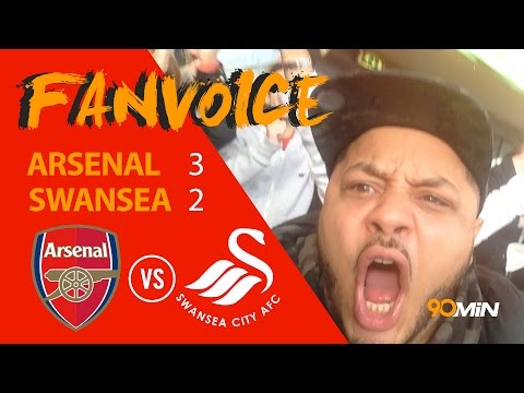 Arsenal edge past Swansea 3-2 | Walcott and Ozil goals give Arsenal win over Swans | 90min FanVoice