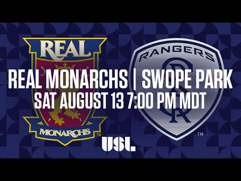 WATCH LIVE: Real Monarchs SLC vs Swope Park Rangers KC 8-13-16