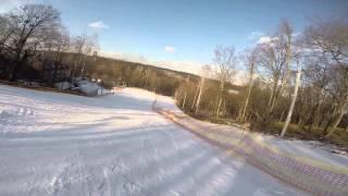 видео Горнолыжная горка в Голосеевском лесу «Горка Голосеево»