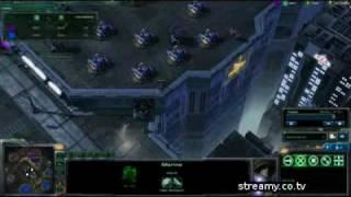 HD Starcraft 2 Nazgul v TheLittleOne g2 p44 2