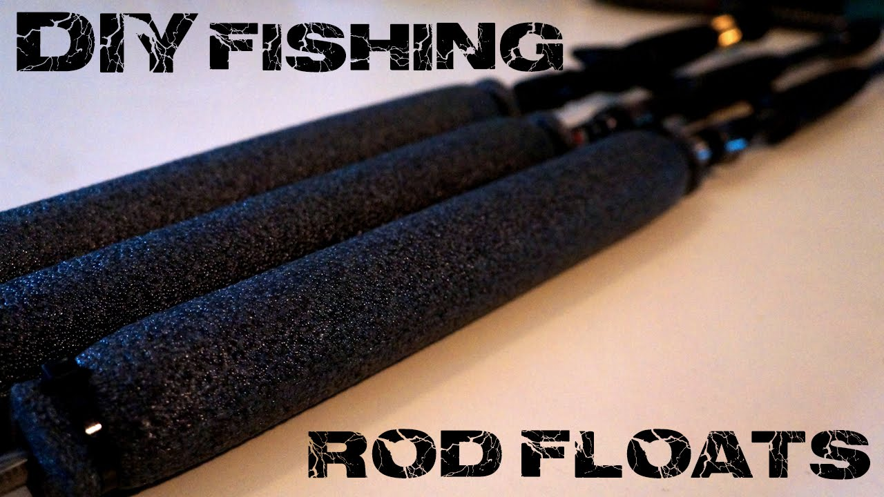 How to diy fishing rod floats for under 5 youtube for How to make a fishing rod