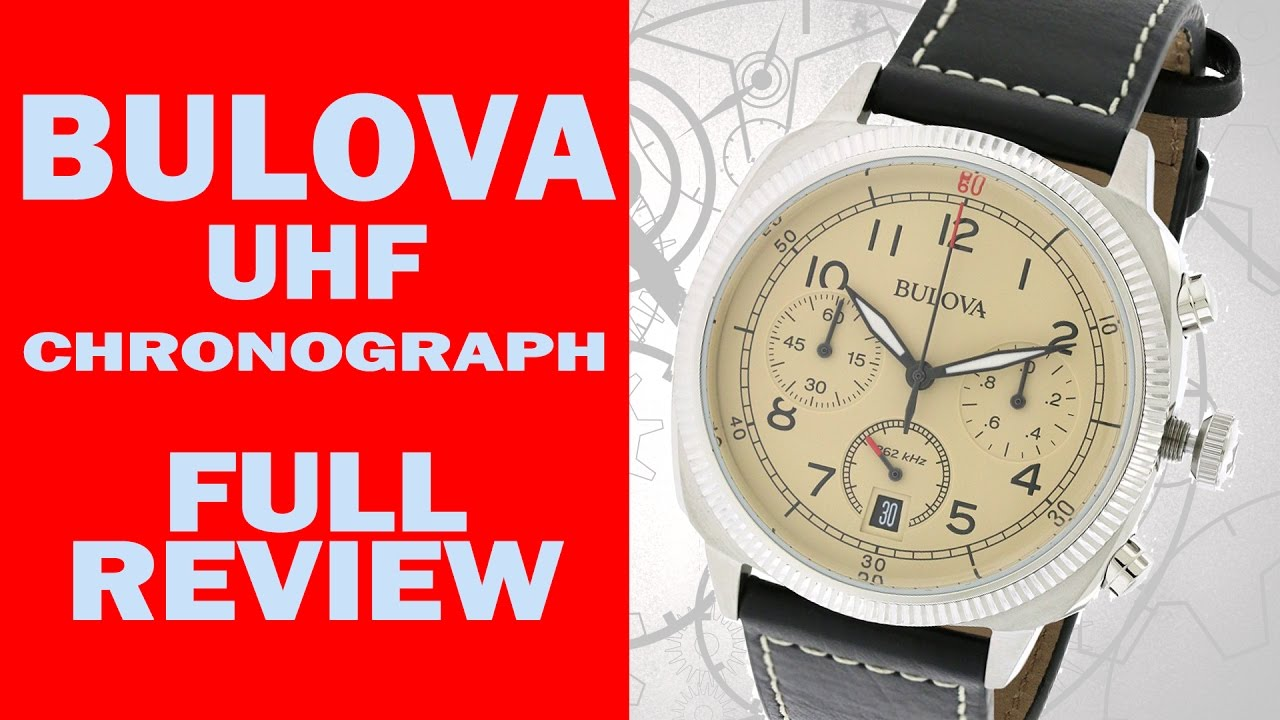 453f803ed Bulova UHF Chronograph - 96B231 - Full Review - I Review Crap! - YouTube