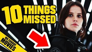 ROGUE ONE: A STAR WARS STORY Trailer - Easter Eggs, References & Things Missed (& Red Arrows)