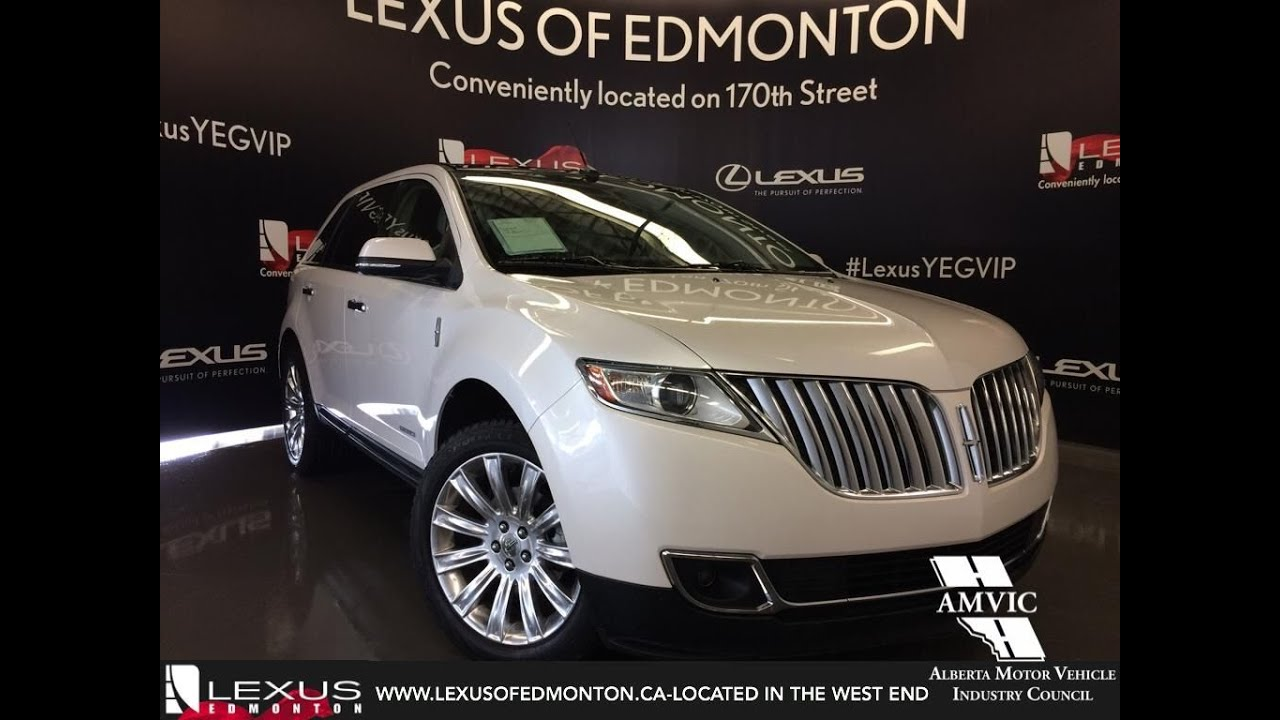 Used 2014 White Lincoln MKX AWD Walkaround Review