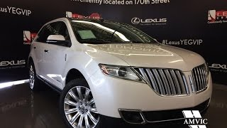 Used 2014 White Lincoln MKX AWD Walkaround Review | Medicine Hat Alberta