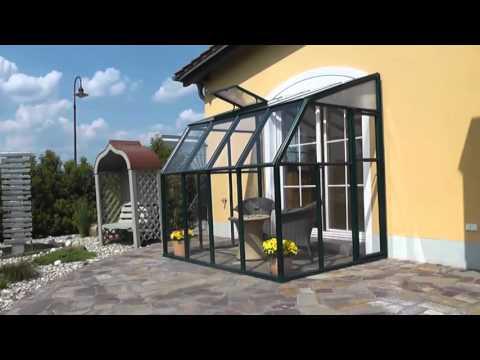 Rion Sun Lounge 2 Sunroom Greenhouse Kit   Green (Multiple Sizes)