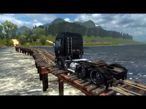 Euro Truck Simulator 2 - Mapas Brazucas E Estradas Perigosas - Ep2