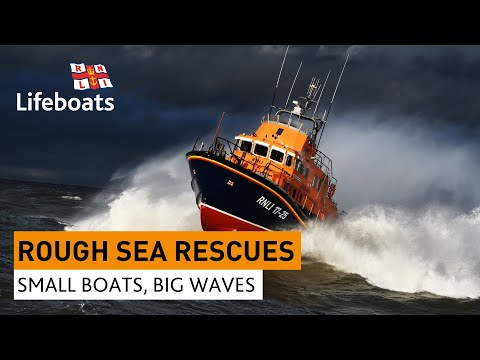 Roughest RNLI lifeboat rescues in huge waves and stormy seas