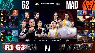 G2 Esports vs Mad Lions - Game 3 | Round 1 PlayOffs S10 LEC Spring 2020 | G2 vs MAD G3