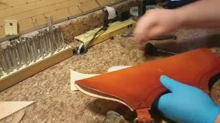 Making a Custom Leather Hip Quiver