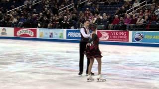 Danielle Gamelin and Alexander Gamelin, 2015 U.S. Figure Skating Championship, Short Dance