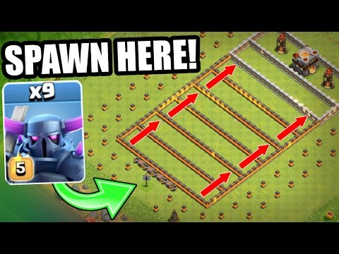 THE ONION LAYER TROLL BASE!! - ULTIMATE TROOP WARFARE! - Clash Of Clans