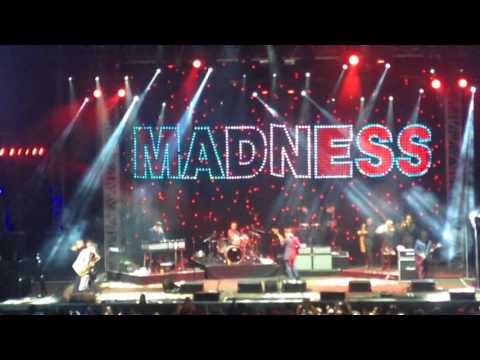 Madness It Must Be Love Scarborough 3rd August 2017